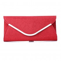 Red Envelope Clutch by Bag in Store