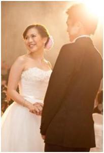 aquaria wedding - Qianlan and Cao Feng