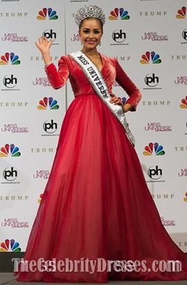 b_2012_m2012 miss universe olivia culpo red pageant evening dresses