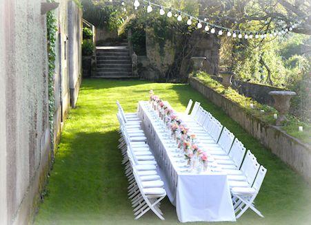 superb dining The Quinta vintage wedding venue