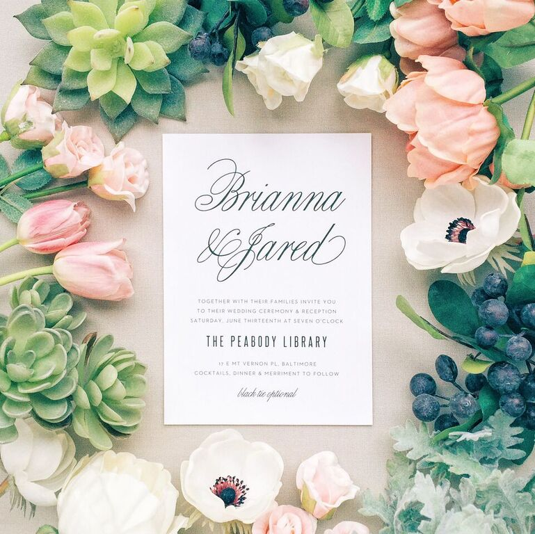Top 6 Wedding Invitation Tips that will Let You Enjoy Announcing the ...