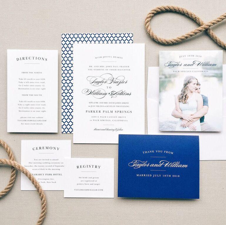 wedding invite by basic invite 2