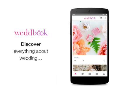 WeddBook app