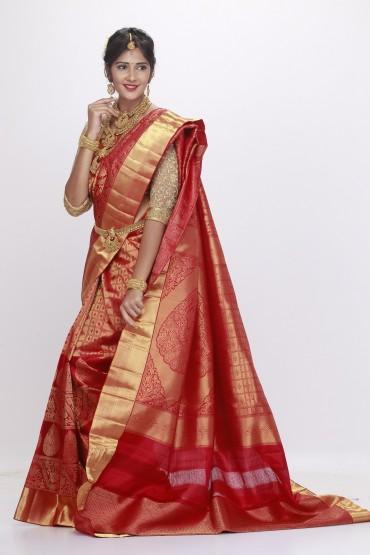 bridal kanjivaram saree