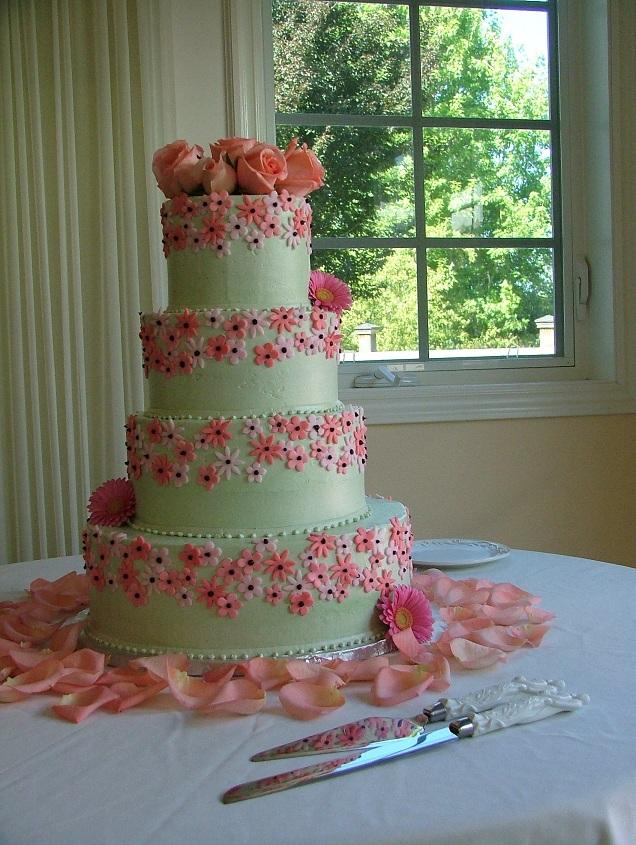 Wedding Cake in the Wedding Décor
