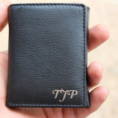 unique special trifold wallet from Everything Decorated