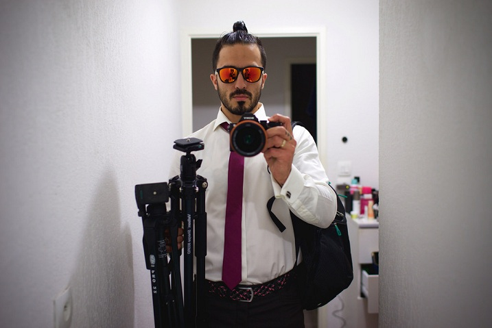 Appropriately Dressed videographer