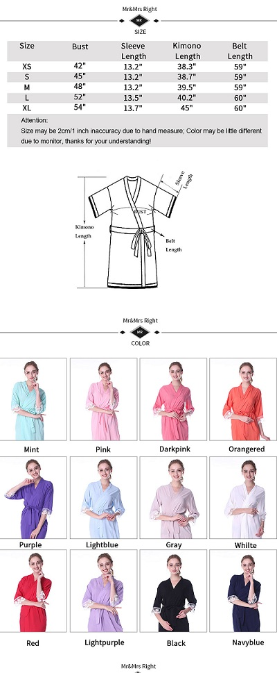 customize your bridal robe