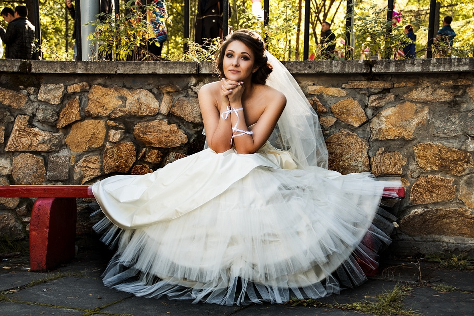bridal portait by Weddings Recorded