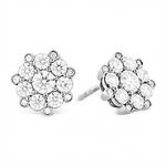 diamond ear studs by Diamond Plaza
