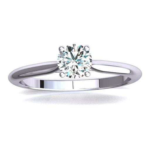 Dalia Petite Diamond engagement ring