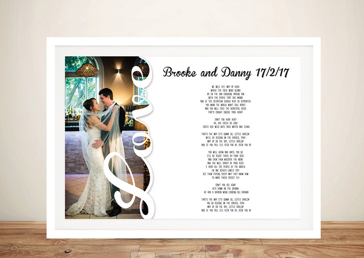 Custom Wedding Vows Artworks