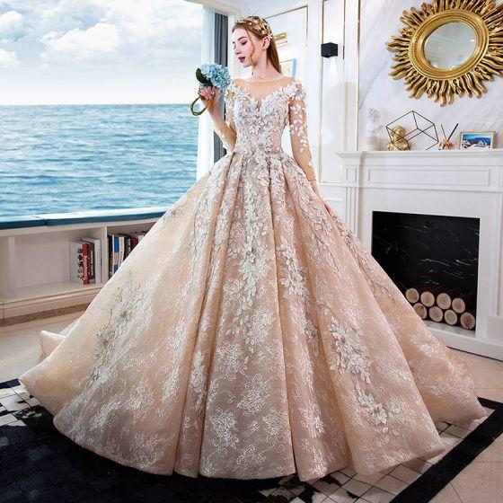 Non-White Bridal Dress