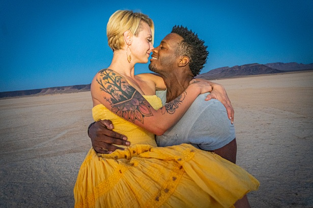 Las Vegas couple