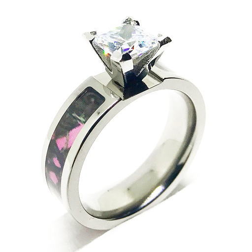 pink camo ring