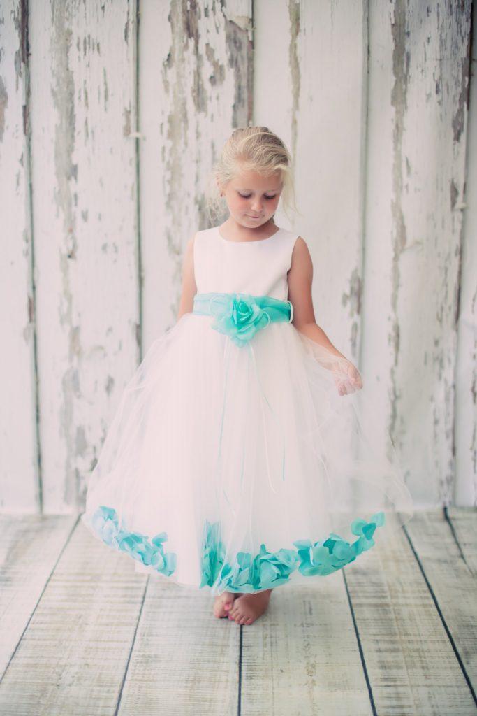 customized flower girl dress